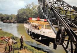 Michel GORAND Industrie Nanterre PARIS PONTOISE Demenagement Transport D'un Bateau (scan Recto-verso) Ref 1001 - Camions & Poids Lourds
