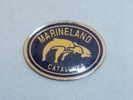 Pin's DAUPHINS MARINELAND CATALUNYA - Animali