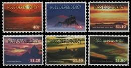 Ross-Gebiet 1999 - Mi-Nr. 60-65 ** - MNH - Naturerscheinungen - Ross-Nebengebiet (Neuseeland)