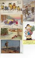 Lot De 90 CPA-CPSM (que Des Petits Formats) Sur Le Thème Fantaisie, Illustrateurs (Lot En Vrac) - 5 - 99 Cartes