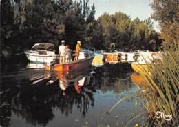 BISCAROSSE  Le Canal Dans La Verdure     41 (scan Recto Verso)MH2951 - Biscarrosse