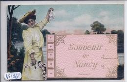 NANCY- CARTE A SYSTEME- COMPLET- RARE- MUSTER GESCH - Nancy