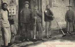 TONKIN  Moncay Trompettes Chinoises De La Garnison De Tong Hinh RV - Viêt-Nam