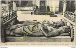 ABBAYE DE SAINT DENIS .  Tombeau De Robert Le Pieux Et De Constance D'Arles . - France
