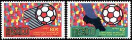 ** Mexico - 1969 - Football World Cup 1970 - Mi. 1306-7 - 1970 – Mexique