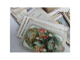 Boite Carte Postale Et Image Pieuse / S158a-21 / D121 - Cartes Postales