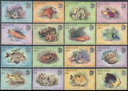 Belize 1984 Marine Life Fish Set MNH - Pesci