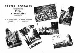 PN 0271 - CARTES POSTALES TOURISTIQUES - J. BRUGUIERE - POITIERS - TOURS - Diapositivas De Vidrio