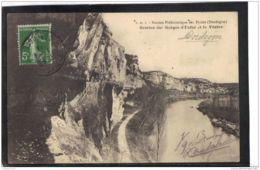 2431. GROTTES DES GORGES D ENFER ET LA VEZERE . (recto Verso)   ANNEE . 1909 - France