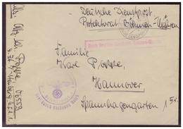 Böhmen Und Mähren (005462) Brief Frei Durch Ablösung Reich, Gelaufen Mit Feldpost Deutsche Dienstpost BM - Bohemia & Moravia