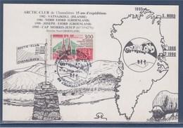 = Union Française De Philatélie Polaire Auvergne, Artic Club, Chamalières 8.6.97 Timbre 3004 FFAP à Clermont-Ferrand - Eventos Y Conmemoraciones