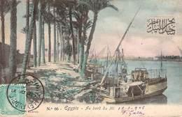 CPA  Egypte Au Bord Du Nil  (animée)(précurseur)  CC 601 - Egypt