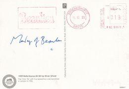 Lord Montagu Hand Signed 1909 Classic Rolls Royce Car Postcard - Zonder Classificatie