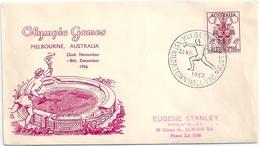 B3962 Australia Olympic Melbourne Architecture Sport Coat-of-Arms SPM - Estate 1956: Melbourne