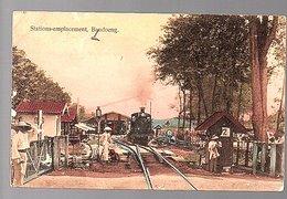 ± 1900 Netherlands Indies Railway Station Bandoeng (21-43) - Indonesië