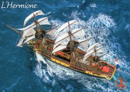 CPM - L - BATEAU - VOILIER - L'HERMIONE - FREGATE DE LA LIBERTE - Segelboote