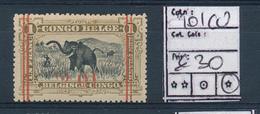 BELGIAN CONGO COB 101 CU LH - 1894-1923 Mols: Neufs
