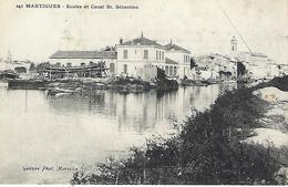 Martigues-ecoles Et Canal St-sebastien - Martigues