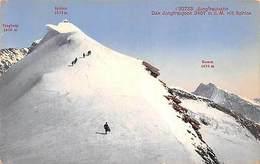 Switzerland Interlaken Jungfraubahn 3457 M Mit Sphinx Trugberg Kamm Ski Climbing - Svizzera