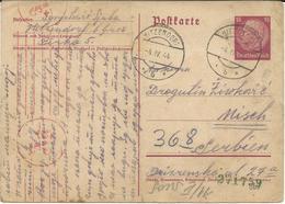 Austria - Hitzendorf - Germany Occupation 1944 - Censorship - Covers & Documents