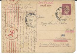 Austria - Graz - Germany Occupation 1944 - Censorship - Covers & Documents