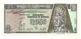 Guatemala - 50 Centavos De Quetzal 1989 - Guatemala