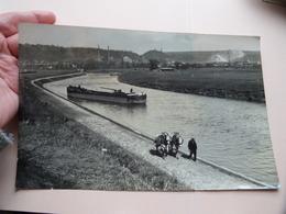 Trekken Van LICHTER Door Paarden > Op Kanaal / Rivier Te ..... Anno 19?? ( Zie Foto's Rooman Theo ) 23 X 14,5 Cm. ! - Boats