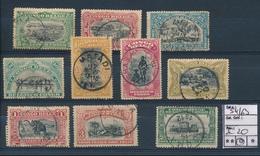 BELGIAN  CONGO COB 54/63 USED - 1894-1923 Mols: Gebraucht