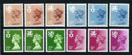 Gran Bretaña Nº 1151/62 Nuevo Cat.29€ - Unused Stamps