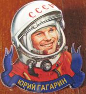 640 Space Russian Pin. Gagarin - Space