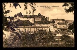 57 - SIERCK-LES-BAINS - LE CHATEAU FORT ET LE COLLEGE - Autres Communes