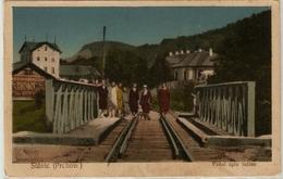 Slanic Prahova - Podul. Old Bridge - Roemenië