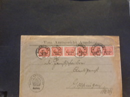 83/997 LETTRE ALLEMAGNE  1922 - Lettres & Documents