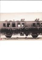 ¤¤  -  Cliché D'un Wagon Du P.O. En Juillet 1894  -  Epreuve à L'Argent  -  Wagon     -  Voir Description   -   ¤¤ - Matériel