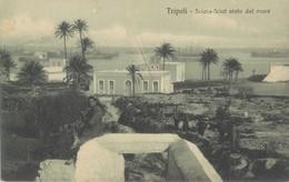 LIBIA-TRIPOLI SCIARA SCIAT VISTO DAL MARE - Libye