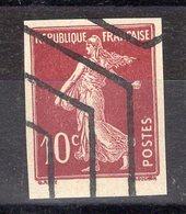 10c SEMEUSE, Non Dentelé, Avec Annulation Des Rebuts - 1906-38 Semeuse Camée
