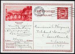 Belgio/Belgium/Belgique: Intero, Stationery, Entier, Ponte, Bridge, Pont - Ponti