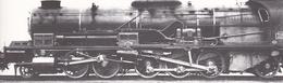 ¤¤  -  Cliché D'une Locomotive Du P.L.M. N° 151.A.1   -  Voir Description   -   ¤¤ - Matériel