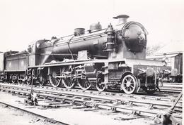 ¤¤  -  Cliché D'une Locomotive Du P.O.  N° 3589  -   Cheminots   -  Voir Description   -   ¤¤ - Matériel