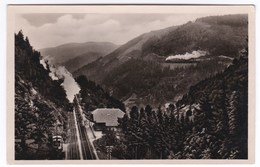 Schwarzwaldbahn Eingang In Den Haldentunnel, Seelenwaldkurve Locomotive - Non Classés