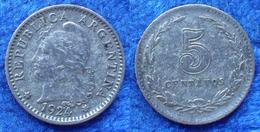 ARGENTINA - 5 Centavos 1924 KM# 34 America - Edelweiss Coins - Argentina
