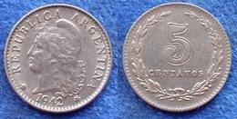 ARGENTINA - 5 Centavos 1942 KM# 34 America - Edelweiss Coins - Argentine