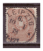 DR: 1878, Nr. 35b, Gestempelt - Deutschland
