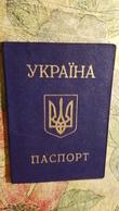 Ukraine, Ukrainian Passport  ID Card   - 1990s  Edition - Ukraine (Mariupol Region) - Documents Historiques