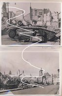 Beaumont, Mai 1940 B1bis Sabordé Et Maisons Détruites. Repros - Vehicles