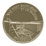 Monnaie De Paris , 2014 , Marseille , Fort Saint Jean Et Le Mucem - Monnaie De Paris