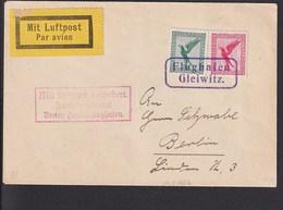 A5 /   Luftpost Luftpostbrief /  Gleiwitz - Berlin Um 1927  TOP - Poste Aérienne