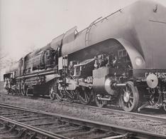 Cliché D'une Locomotive De La Société Belge De Matériel De Chemin De Fer De RAISMES , NORD  -  Voir Description - Equipo