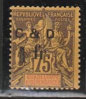 GUADELOUPE N° 49*h  C Au Lieu De G - Guadeloupe (1884-1947)