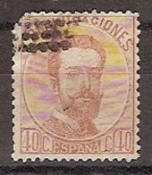 España U 0125 (o) Amadeo. 1872. Foto Exacta - 1872-73 Reino: Amadeo I